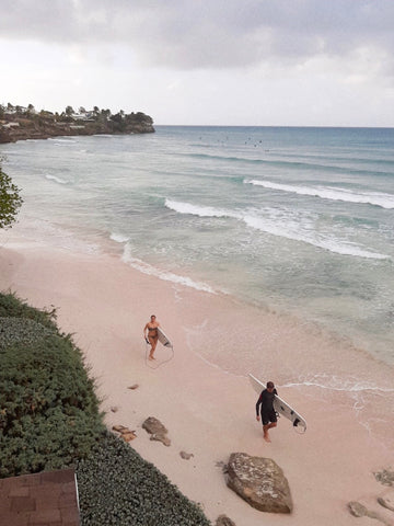 Frieghts, Barbados Surfspots