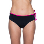 Load image into Gallery viewer, Zealous Clothing Radical Hipster Surfbikini Bottoms Pink Paradise Black