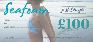Seafoam Surf Bikinis Leggings One-Pieces Suits Gift Voucher Certificate