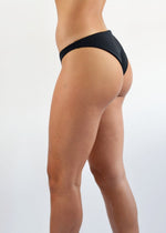 Load image into Gallery viewer, Akela Surf Mahalo BIkini Bottoms Black Reversible