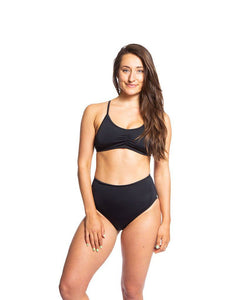 Sensi Graves Bikinis Nika Surf Bottoms Cabana Eco Friendly High Rise
