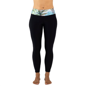 Zealous Clothing Sirena Surf and Yoga Leggings Pastel Tropics