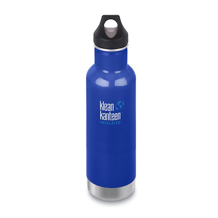 Klean Kanteen Insulated Classic 20oz 592ml Coastal waters blue
