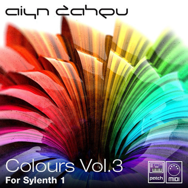 Colours vol.3 sound bank for Sylenth1