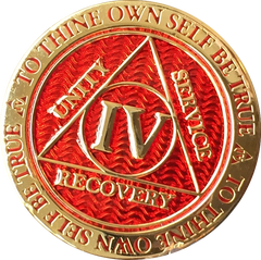 Reflex Red Gold AA Medallions