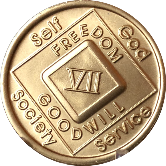 NA Medallions - Narcotics Anonymous