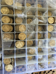 Bulk Wholesale Lot of AA Medallions & Chips