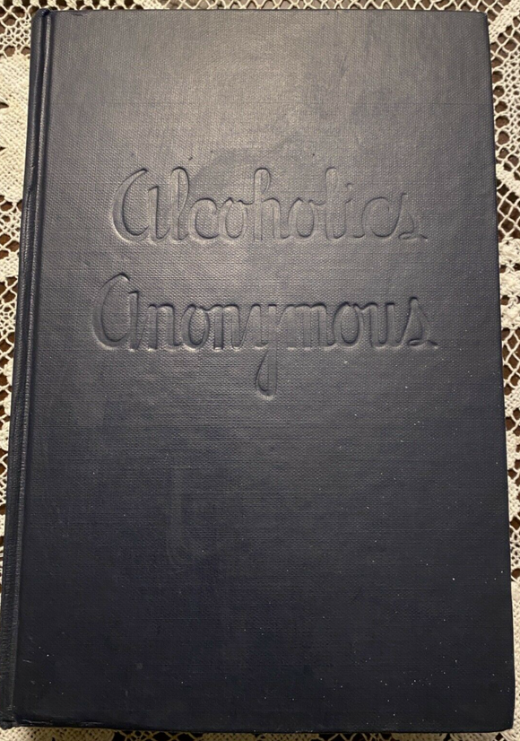 Alcoholics Anonymous 1st Edition Big Book