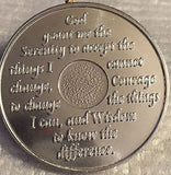 25 Alcoholics Anonymous AA 24 Hours Desire Chip Medallion Aluminum Chips 24hrs - RecoveryChip