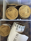 Bulk Lot Of 20 30 40 or 50 60 70 80 90 or 100  AA Chips Alcoholics Anonymous Medallions Bronze Any Month Or Year - RecoveryChip