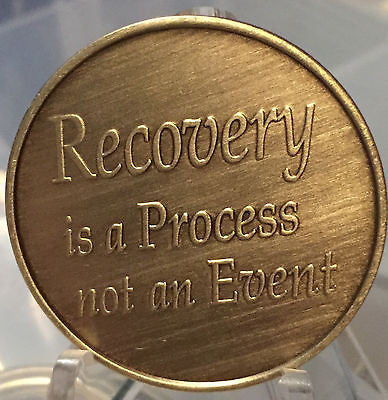 Welcome Enjoy The Journey Recovery Is A Process Medallion or Keychain - RecoveryChip
