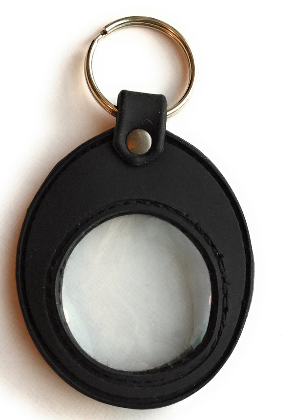 Universal Fit Black Silicone AA NA Sobriety Medallion Holder Keychain - RecoveryChip
