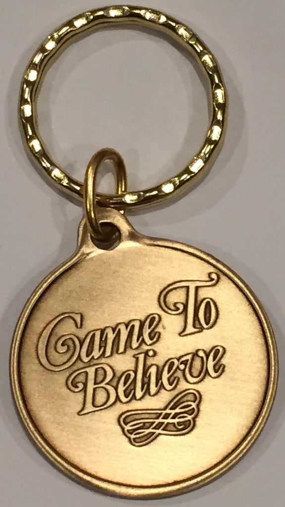 Came To Believe - Serenity Prayer AA Medallion Keychain - RecoveryChip