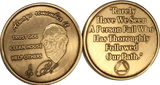 Dr Bob Rx Prescription Bronze AA Founders Medallion Always Remember It Chip - RecoveryChip