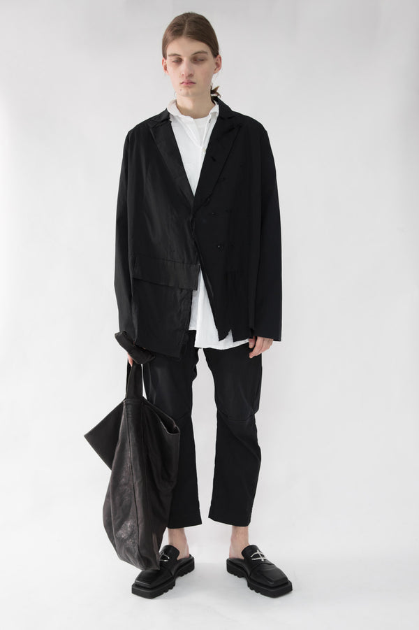 Asymmetrical Deconstructed Blazer