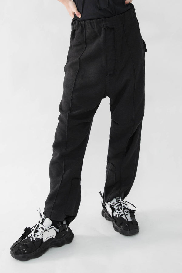 Pleated Wool Slacks