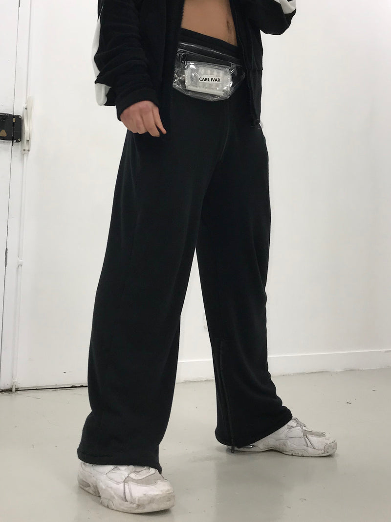 CARL IVAR STRAIGHT ZIPPER PANTS