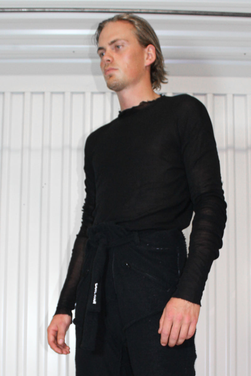 Pure Silk Knit Sweater - CARL IVAR