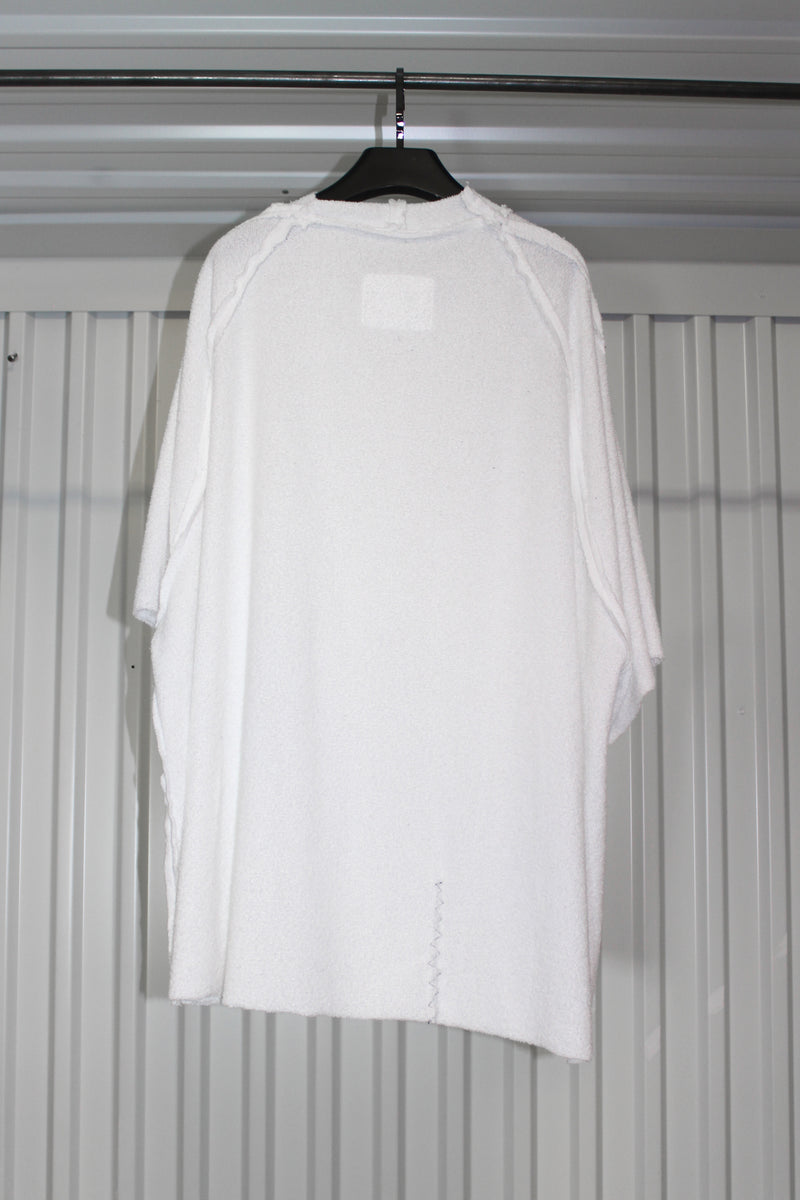 CARL IVAR OVER SIZED RAGLAN T-SHIRT IN TWILL