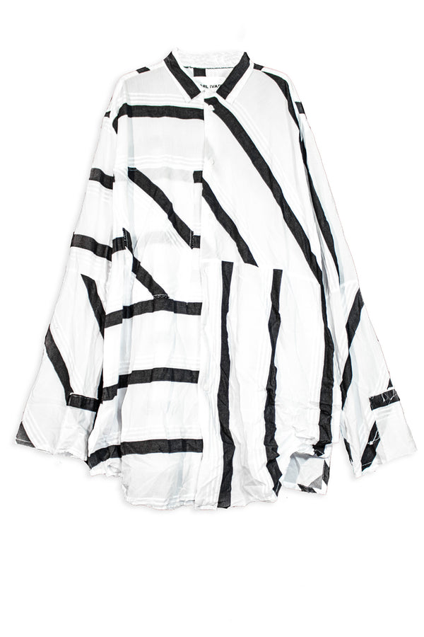CARL IVAR TRIPPY STRIPES SHIRT - CARL IVAR - carlivar -