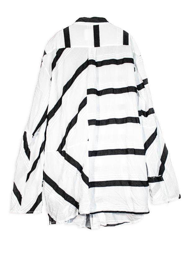 CARL IVAR TRIPPY STRIPES SHIRT