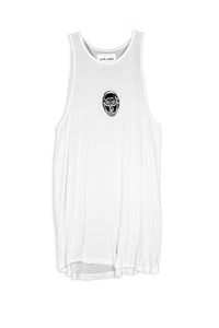 CARL IVAR MASK PRINT TANK TOP