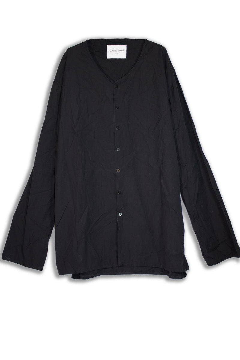 CARL IVAR COLLAR LESS SHIRT - CARL IVAR - carlivar -