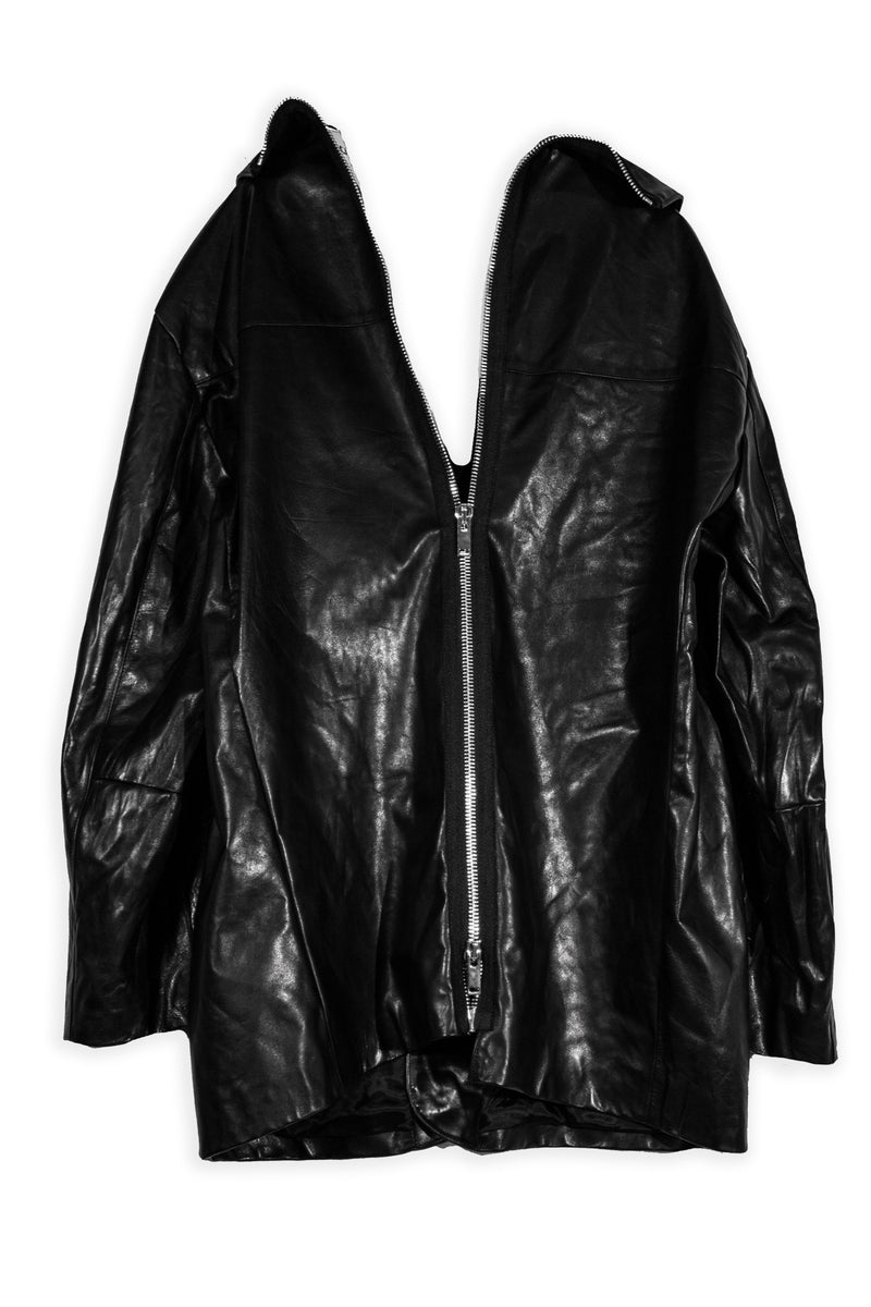 CARL IVAR LEATHER BLAZER - CARL IVAR - carlivar -