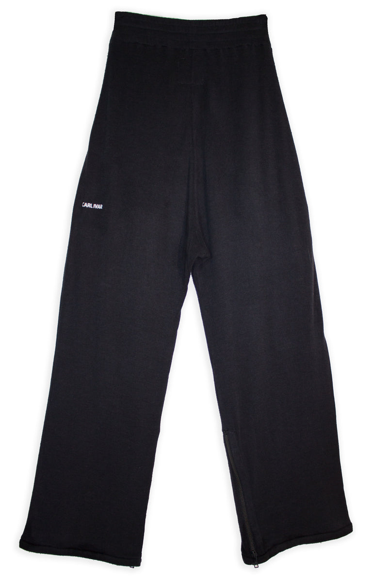 CARL IVAR STRAIGHT ZIPPER PANTS - CARL IVAR - carlivar -