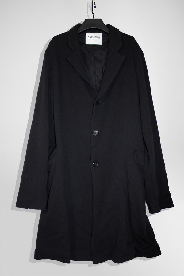 Stretchy Viscose Coat - CARL IVAR