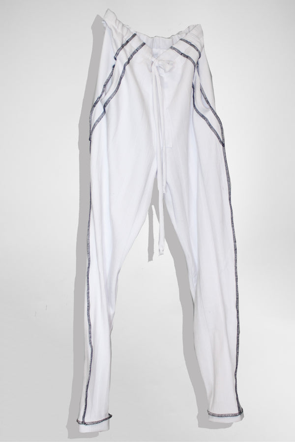Contrast Stitch Pants - CARL IVAR