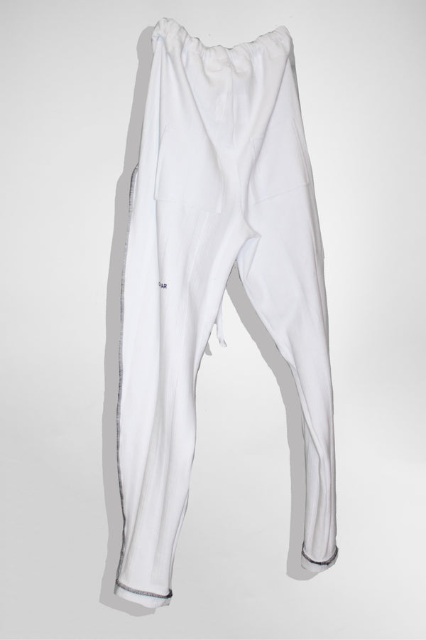 CARL IVAR CONTAST STITCH PANTS - CARL IVAR - carlivar -