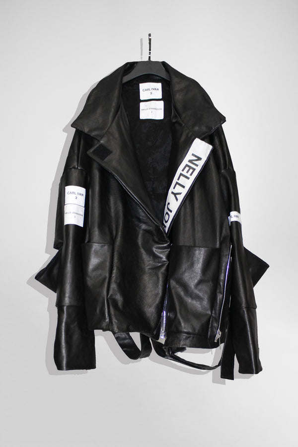 Over Sized Leather Jacket - CARL IVAR