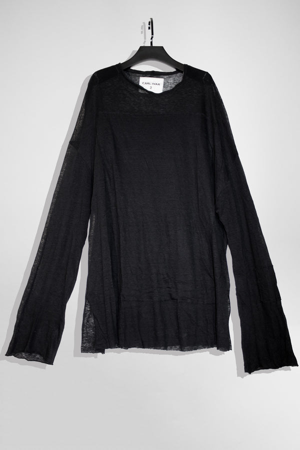 Patch Work Linen Sweater - CARL IVAR