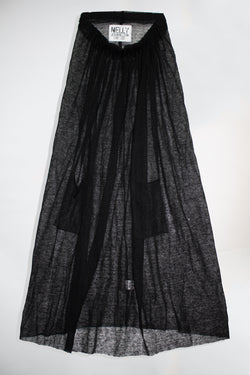 Sheer Long Skirt