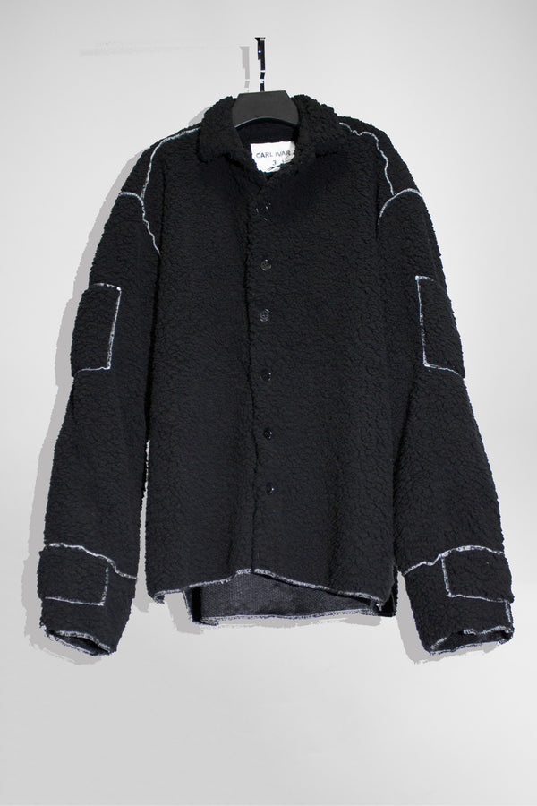 Contrast Fleece Shirt - CARL IVAR
