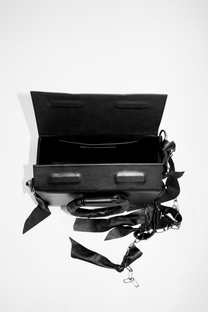Dinner Leather Box Bag
