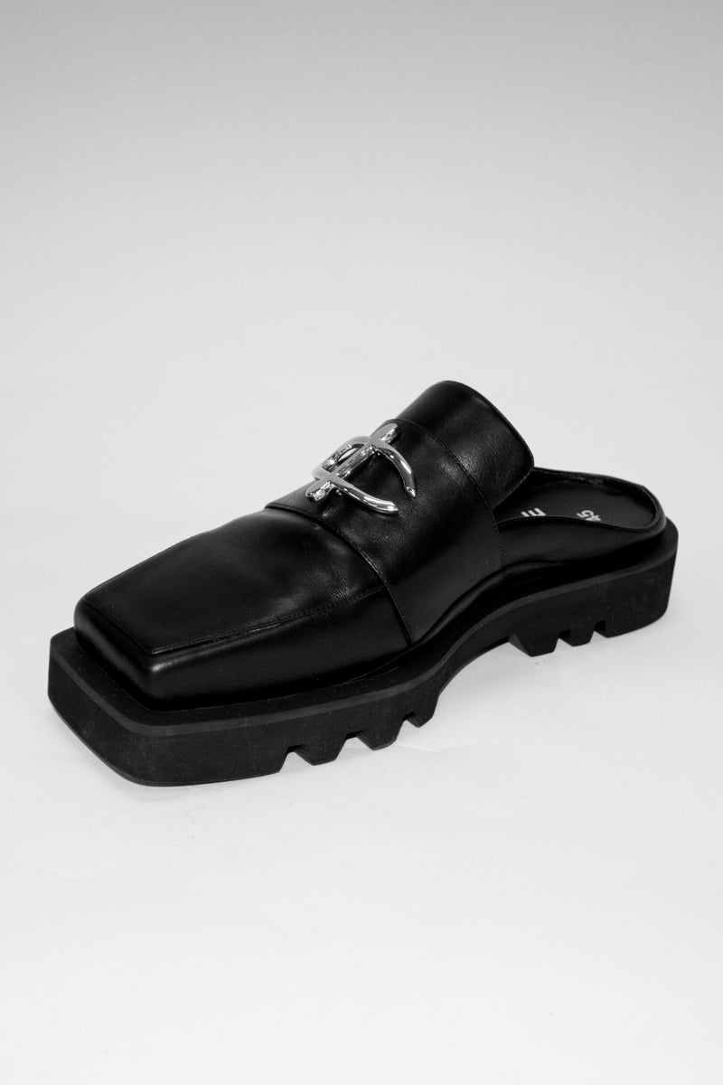Leather Slip In Loafers