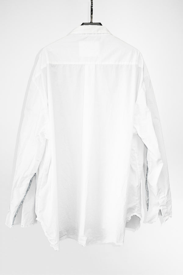 Deconstructed Sleeve Shirt