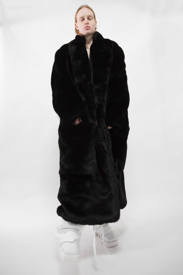 Oversized Faux Fur Coat - CARL IVAR
