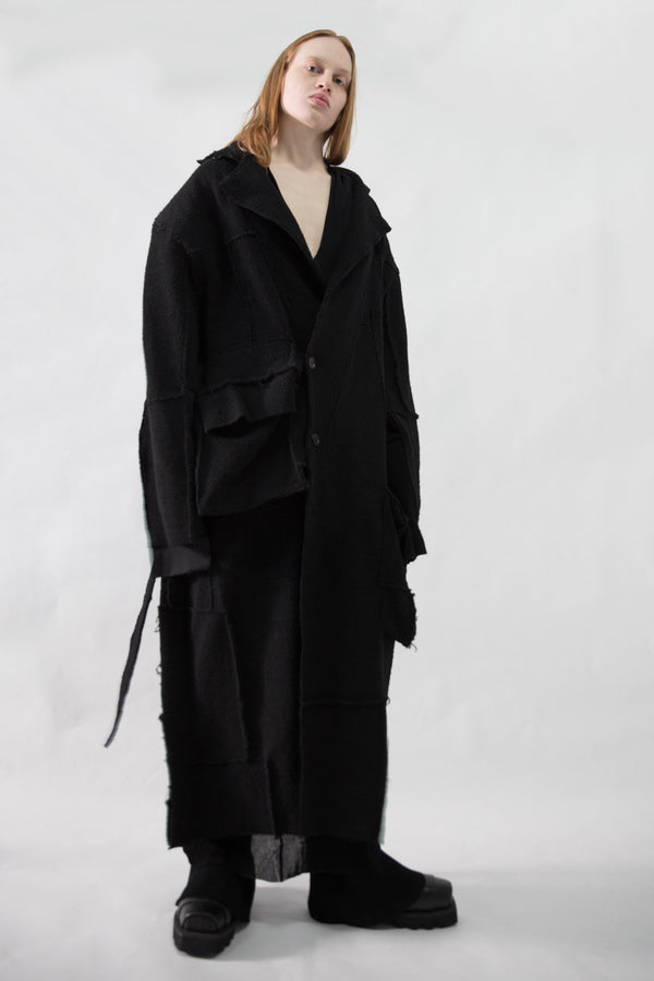 Broad Shoulder Full Overcoat - CARL IVAR