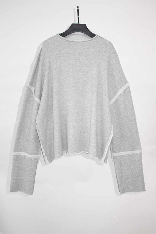 Reversible High Neck Sweater - CARL IVAR - carlivar -