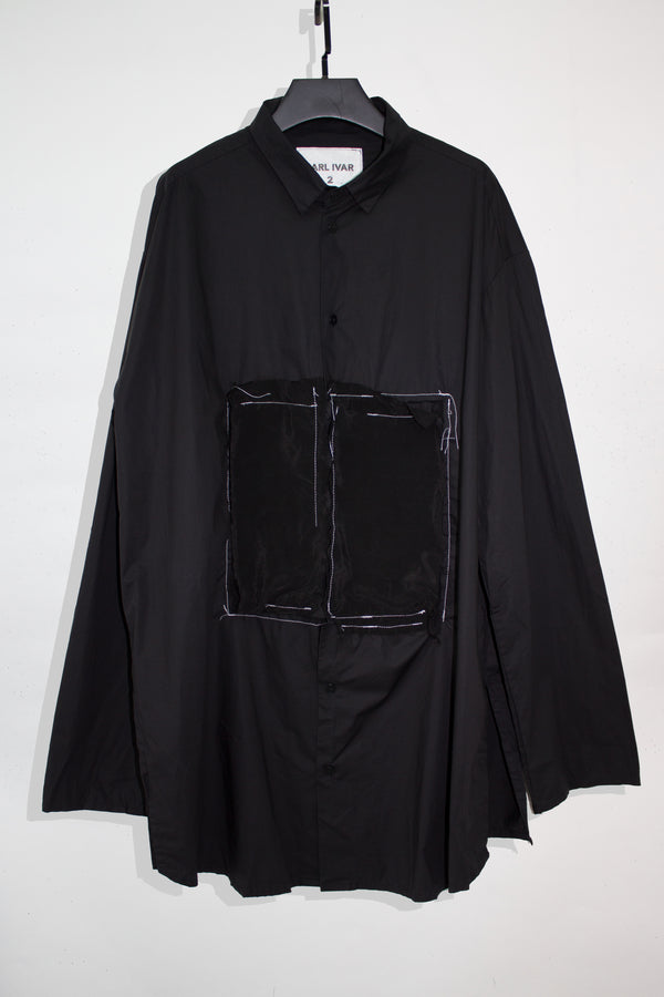 Oversized Deconstructed Dress Shirt - CARL IVAR - carlivar -