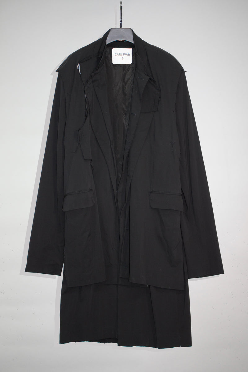 Layered  Deconstructed Coat - CARL IVAR