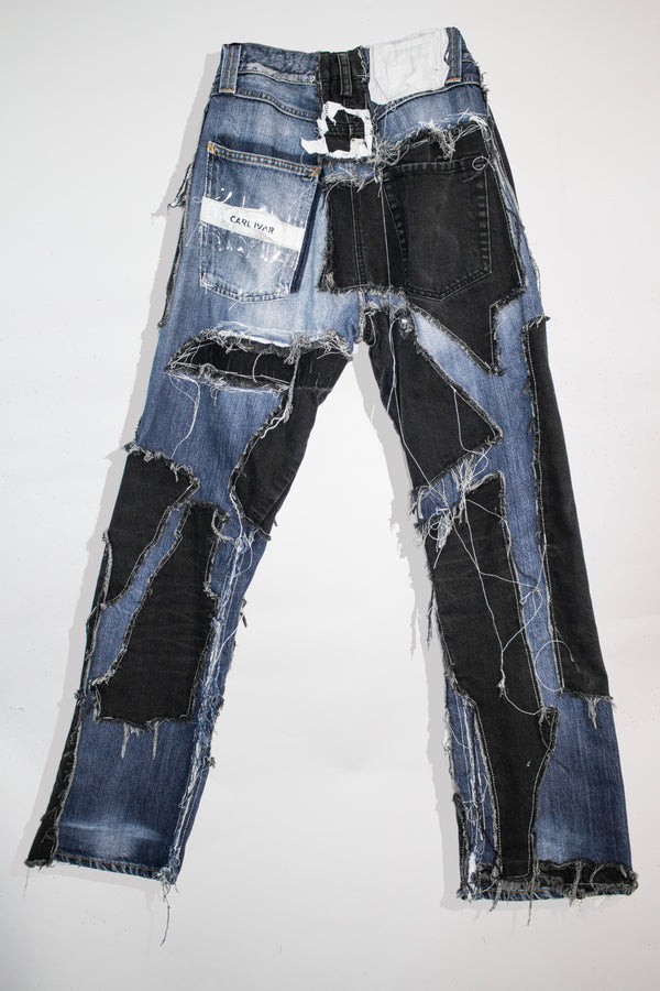 Patch Work Jeans - CARL IVAR - carlivar -