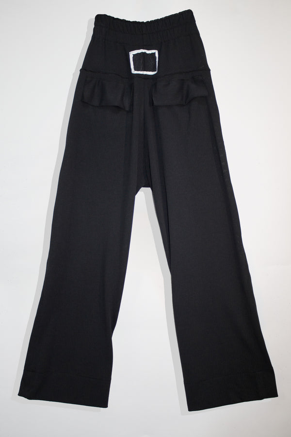 Perforated Loose Suit Pants - CARL IVAR - carlivar -