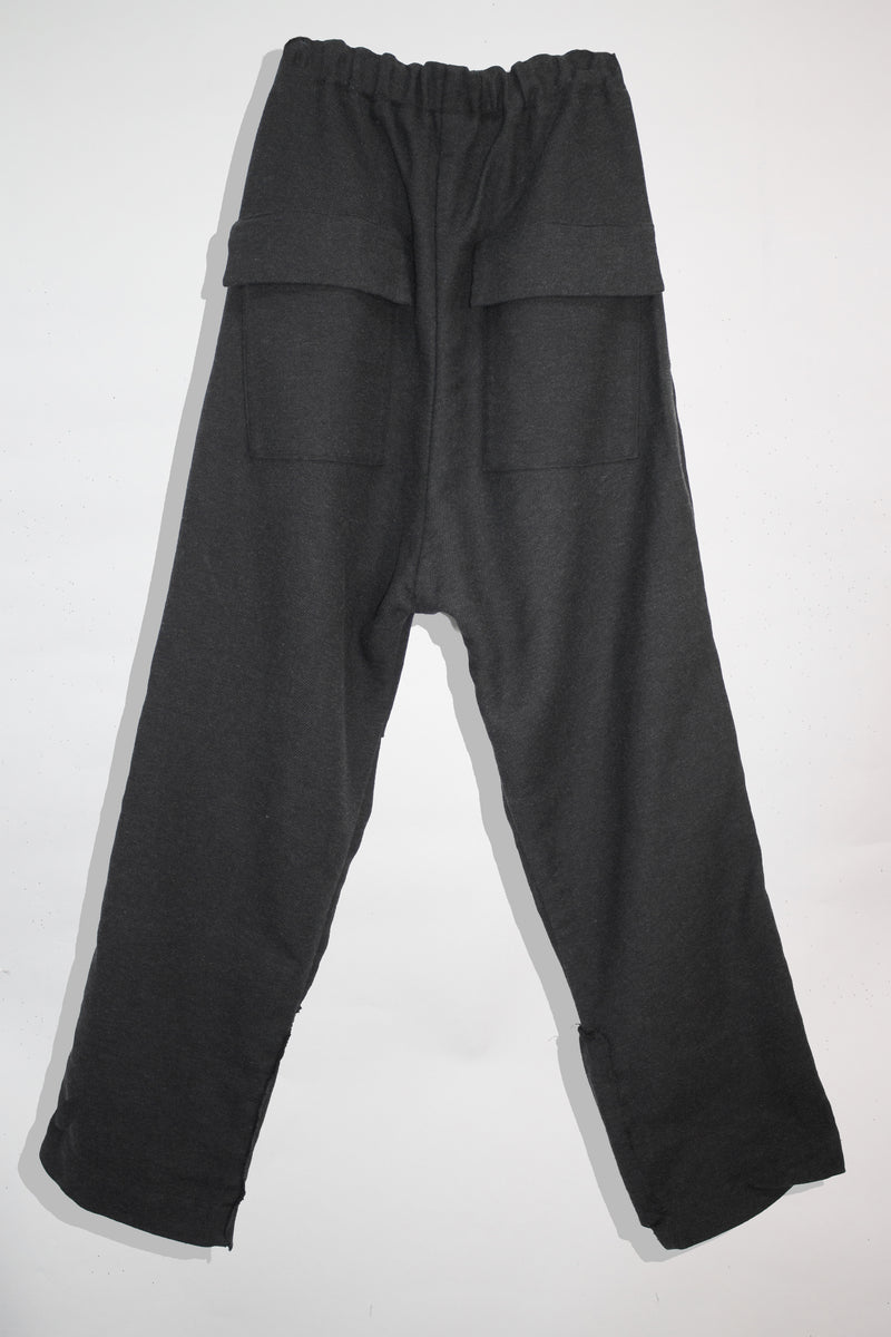 Pleated Wool Slacks - CARL IVAR - carlivar -