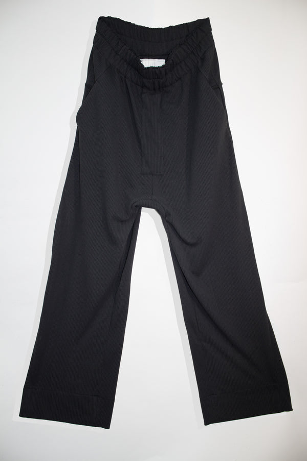 Perforated Loose Suit Pants - CARL IVAR