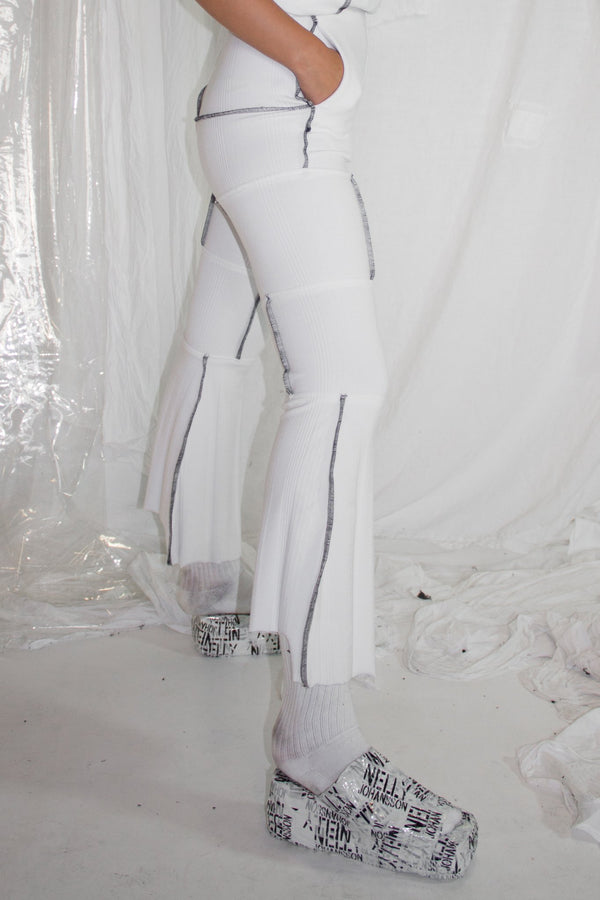 NELLY JOHANSSON TWIST CONSTRUCTED PANTS