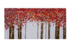 Artistique - 28'' x 56'' Red Forest - Casa Febus - Home • Design